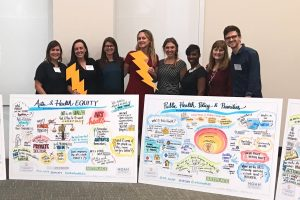 Creating Healthy Communities team