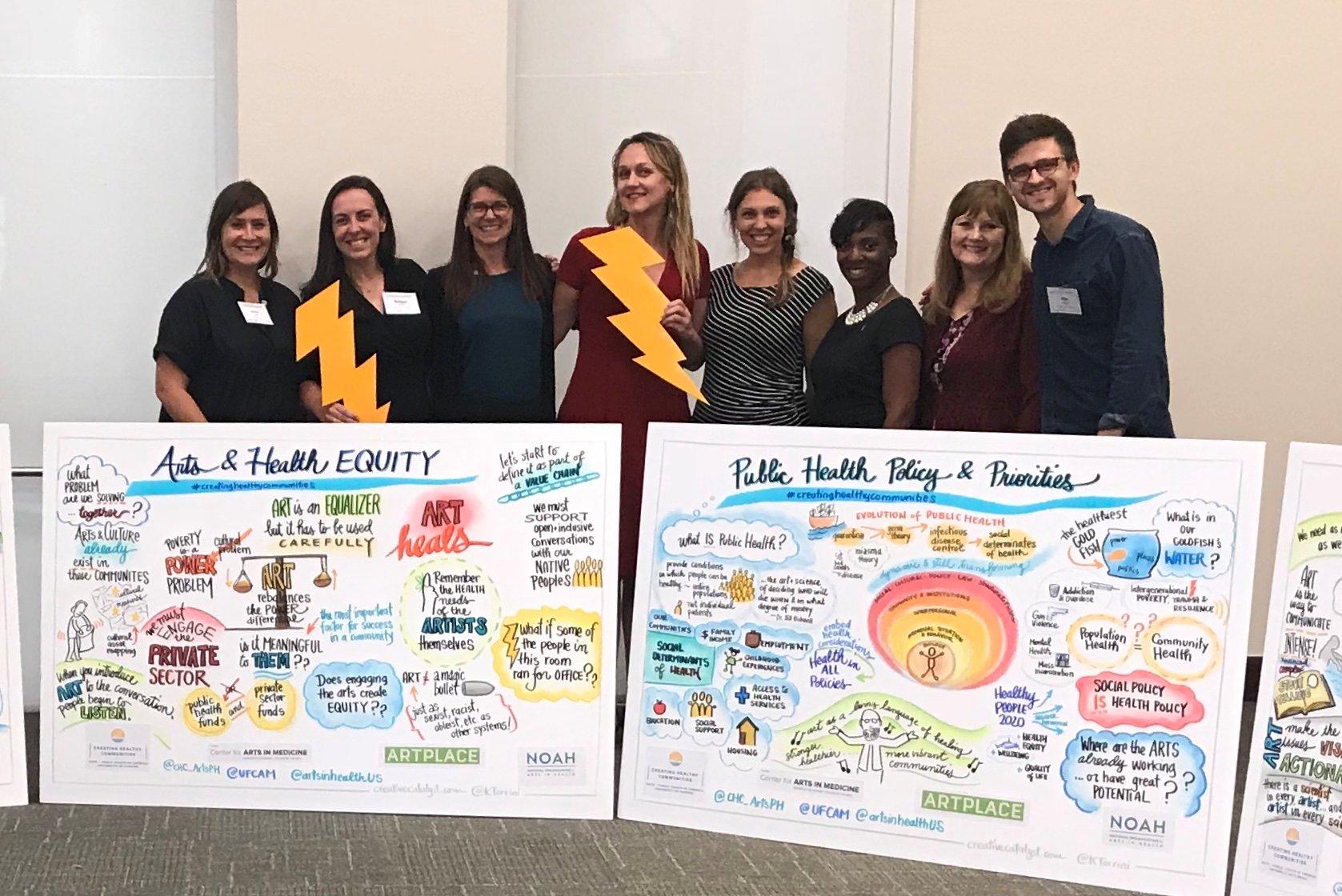 Creating Healthy Communities team