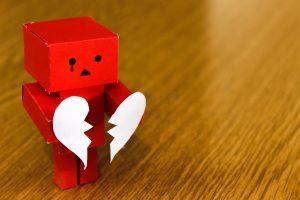 Heartbreak from rejection