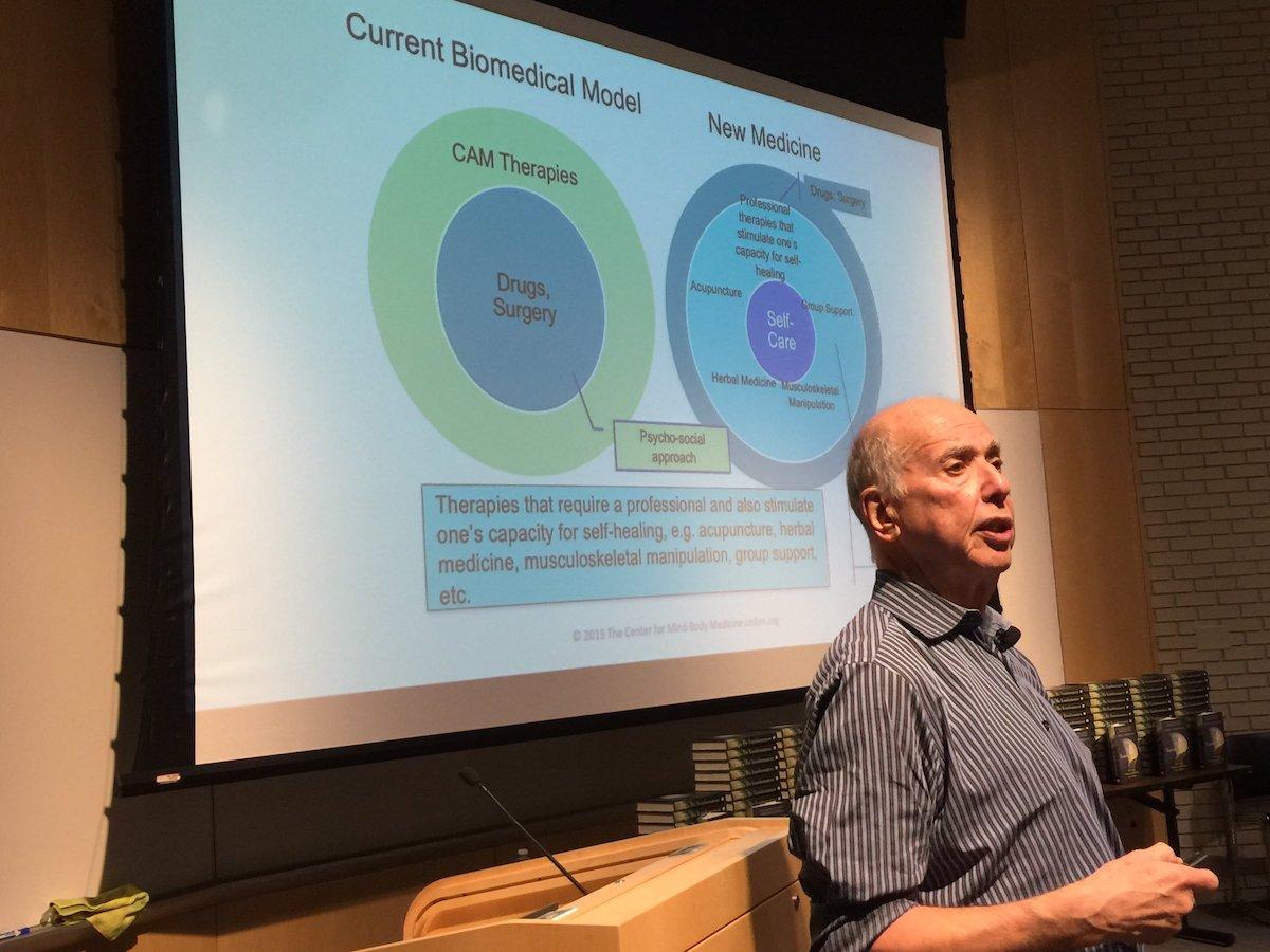Jim Gordon, MD presenting