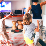 Let's Get Physical: Dancing to Support Family Fitness at Home