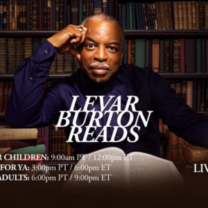 Storytime for All Ages with LeVar Burton