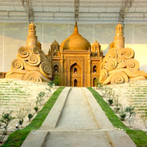 Taj Mahal at Sand Museum